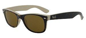 Óculos de sol Ray-Ban New Wayfarer RB2132 6012