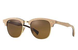 Óculos de sol Ray-Ban Clubmaster Wood RB3016M 1179 51