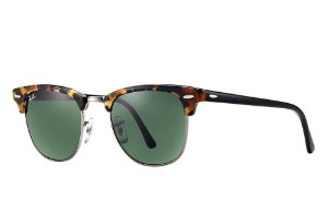 Óculos de sol Ray-Ban Clubmaster Fleck RB3016 1159/4E