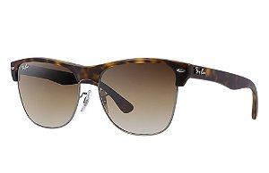 Óculos de sol Ray-Ban Clubmaster Oversized RB4175 878/51
