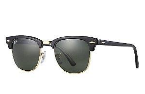 Óculos de sol Ray-Ban Clubmaster RB3016 W0365