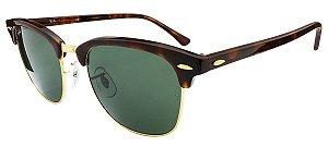 Óculos de sol Ray-Ban Clubmaster RB3016 W0366