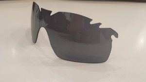 Lente Oakley Radarlock XL Black Iridium