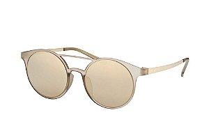 Le Specs Demo Mode LSP1602169 Bege e Dourado Lente Dourada