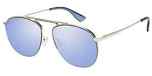 Le Specs Liberation Dourado Lente Azul LSP1702025