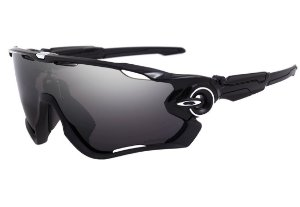 OAKLEY JAWBREAKER POLISHED BLACK PRIZM BLACK POLARIZED OO9290-2831