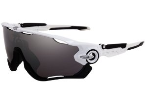 OAKLEY JAWBREAKER POLISHED WHITE PRIZM BLACK IRIDIUM OO9290-2931