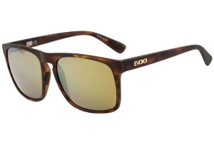 Óculos de Sol Evoke EVK 18 D01 Turtle Matte Gold Espelhado