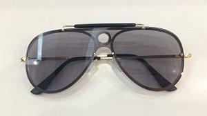 Óculos de Sol Ruby 7579-N 001/87 Dourado/Lente Cinza