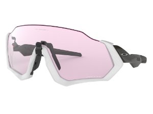 Oakley Flight Jacket Matte Grey Carbon Prizm Low Light OO94010337