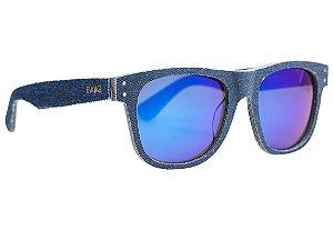 Óculos De Sol Evoke On The Rocks X Denim D01 Azul Fosco