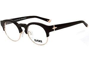 Óculos de Grau Evoke Capo III A02 Black Bone Gold