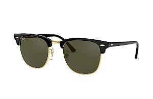 Óculos de Sol Ray-Ban Clubmaster Clássico RB3016L W0365 51-21