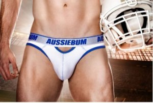 Jock Brief White Aussiebum