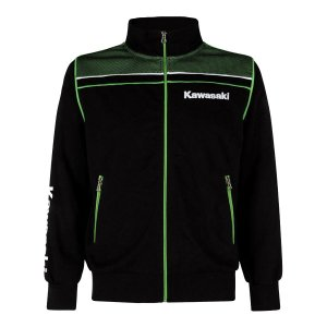 BLUSA KAWASAKI SPORTS HOODED MASCULINO PRETO