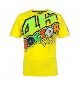 CAMISETA VR46 THE DOCTOR - AMARELA