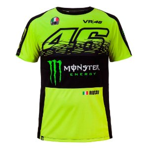 CAMISETA VR46 MONSTER ENERGY 2017