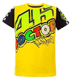 CAMISETA VR46 THE DOCTOR INFANTIL - AMARELA