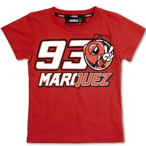 CAMISETA MARC MARQUEZ 93 MARQUEZ INFANTIL - VERMELHA