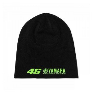 GORRO VR46 MONSTER ENERGY YAMAHA - PRETO