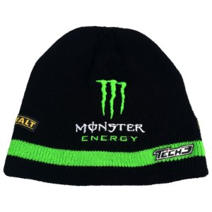 GORRO MONSTER ENERGY YAMAHA TECH 3 - PRETO