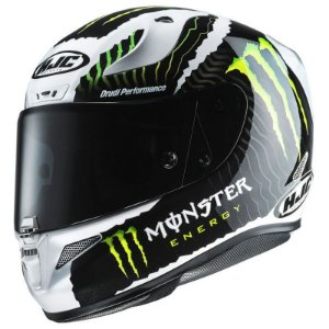 CAPACETE HJC RPHA 11 MONSTER MILITARY WHITE SAND