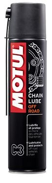 SPRAY LUBRIFICANTE PARA CORRENTE MOTUL C3 - 400ML