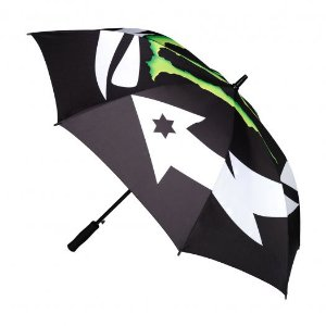 GUARDA-CHUVA MONSTER LORENZO - PRETO/VERDE