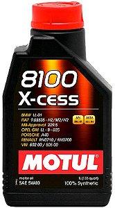 ÓLEO MOTUL 8100 X-CESS 5W40 - 1L
