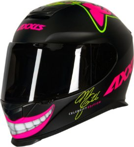 CAPACETE AXXIS EAGLE MC16 CELEBRITY EDITION BY MARIANNY PRETO FOSCO