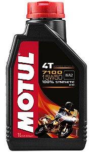 ÓLEO MOTUL 7100 4T 15W50 - 1L