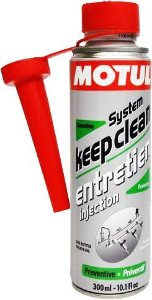 SPRAY DE LIMPEZA MOTUL SYSTEM KEEP CLEAN GASOLINE - 300ML