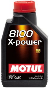 ÓLEO MOTUL 8100 X-POWER 10W60 - 1L