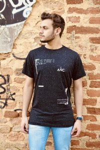 Camiseta coordenadas de Jerusalém