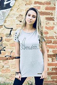 Camiseta feminina AMÉM