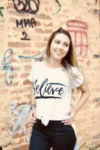 Camiseta feminina BELIVE