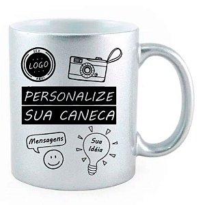 Caneca Personalizada - Prata