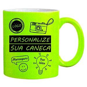 Caneca Personalizada - Neon Fosca Verde Limão
