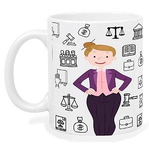 Caneca Profissão Direito (M) - 6