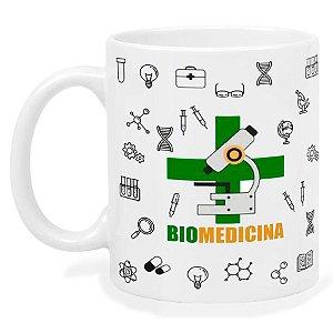 Caneca Profissão Biomedicina