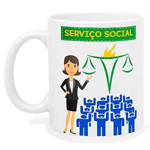 Caneca Serviço Social
