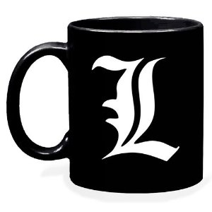 "Caneca Death Note - Personagem ""L"""