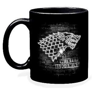 Caneca Game Of Thrones Brasão Stark