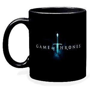 Caneca Preta Game Of Thrones Rei Da Noite