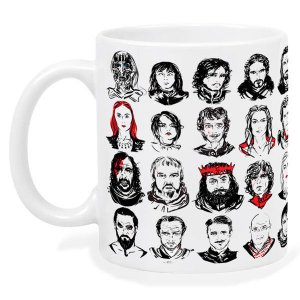 Caneca Game Of Thrones Personagens