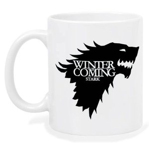Caneca Jon Snow Game Of Thrones