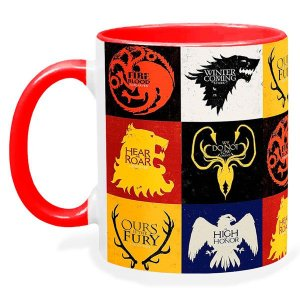 Caneca Game Of Thrones Todas As Casas