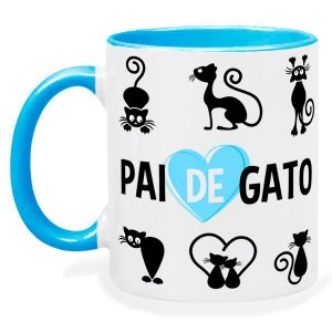 Caneca Personalizada Pai de Gato