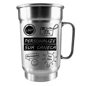 Caneca Personalizada Alumínio - 750ML
