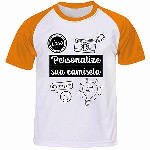 Camiseta Personalizada Manga Curta Colorida - Tamanho (XGG)